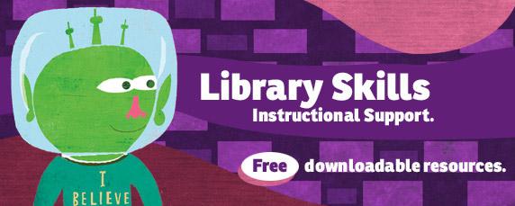 Library Skills Downloadables Tools – Library Skills Worksheets