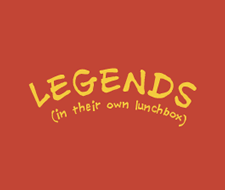 Legends in their Own Lunchbox image