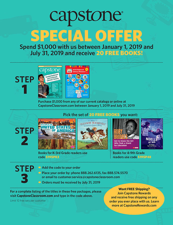 Spring 2019 Special Offer 20 Free Books