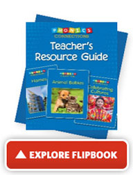 Explore the 'Teacher's Resource Guide' flip book
