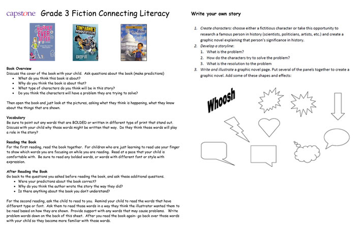 Connecting Literacy Teacher Notes image