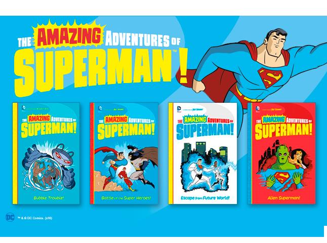 Amazing Adventures of Superman banner image