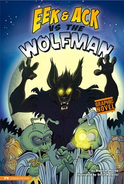 Graphic Novel Review: Eek and Ack vs The Wolfman
